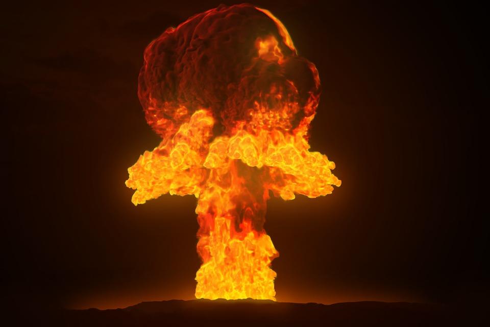 Explosion einer Atombombe